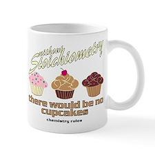 Chemistry Cupcakes Small Mug