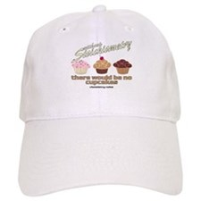 Chemistry Cupcakes Baseball Cap