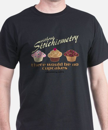 Chemistry Cupcakes T-Shirt