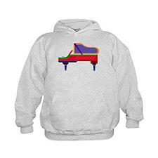 Funky Piano Hoodie