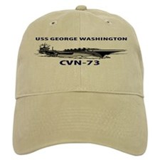 USS GEORGE WASHINGTON Baseball Cap