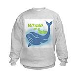 Boys whale Crew Neck