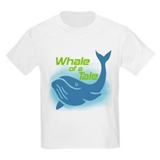 Whale of a Tale Kids T-Shirt