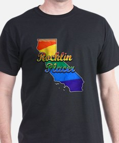 Rocklin Placer, California. Gay Pride T-Shirt