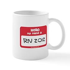 RN Nurse Name Tag Mug
