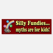Myths r 4 kids Sticker (Bumper)