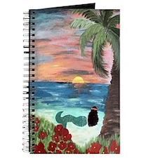 Brunette Mermaid Journal