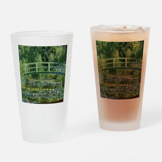 Monet Japanese Bridge Drinking Glass