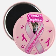 Cute Canine cancer awareness Magnet