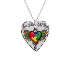 Autism Love Necklace