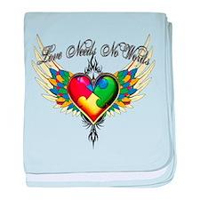 Autism Love baby blanket