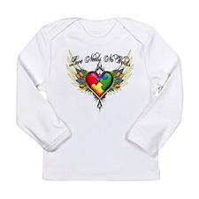 Autism Love Long Sleeve Infant T-Shirt