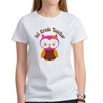 1st Grade Teacher Gift Women's T-Shirt