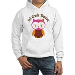1st Grade Teacher Gift Hooded Sweatshirt
