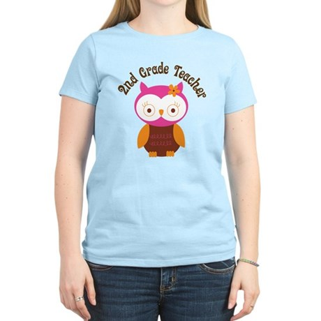 2nd Grade Teacher Gift Women's Light T-Shirt