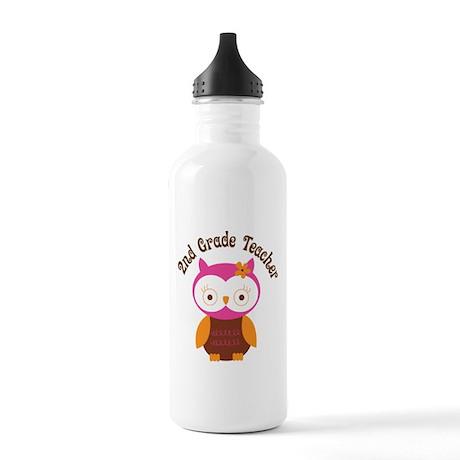 2nd Grade Teacher Gift Stainless Water Bottle 1.0L