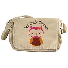 3rd Grade Teacher Gift Messenger Bag