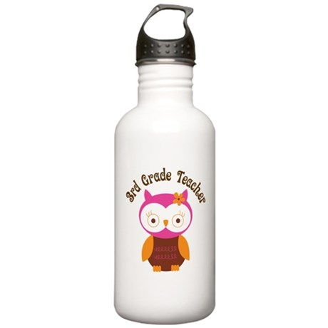 3rd Grade Teacher Gift Stainless Water Bottle 1.0L