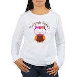 3rd Grade Teacher Gift Women's Long Sleeve T-Shirt