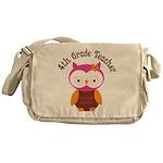 4th Grade Teacher Gift Messenger Bag