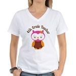 4th Grade Teacher Gift Women's V-Neck T-Shirt