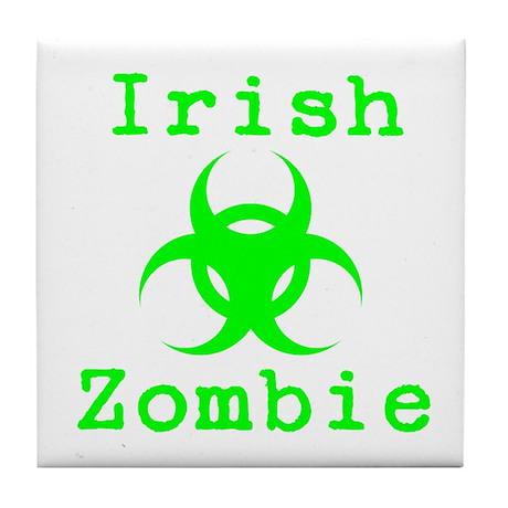 Irish Zombie Tile Coaster