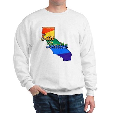 San Benito, California. Gay Pride Sweatshirt