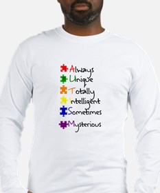 What Autism Means To Me Long Sleeve T-Shirt
