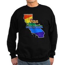 San Quentin, California. Gay Pride Sweatshirt