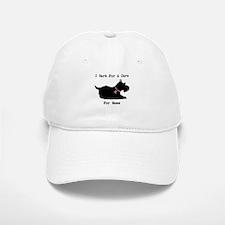 Pomeranian Personalizable I Bark For A Cure Baseball Baseball Cap