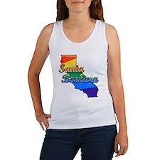 Santa Barbara, California. Gay Pride Women's Tank