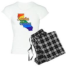 Santa Clara, California. Gay Pride pajamas