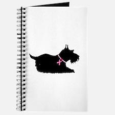 Schnauzer Silhouette Journal