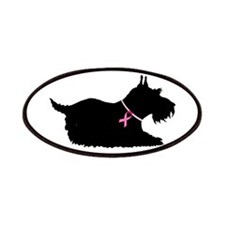 Schnauzer Silhouette Patches