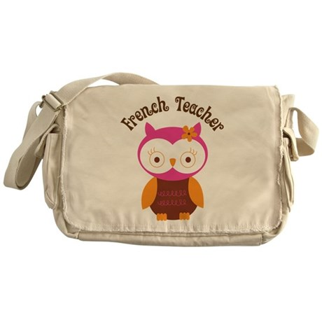 French Teacher Gift Messenger Bag