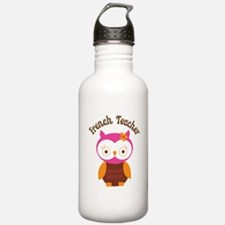 French Teacher Gift Water Bottle