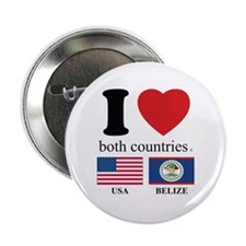 """USA-BELIZE 2.25"""" Button (10 pack)"""