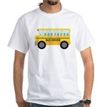 Bus Driver Gift White T-Shirt
