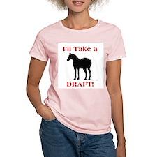 Draft Women's Pink T-Shirt