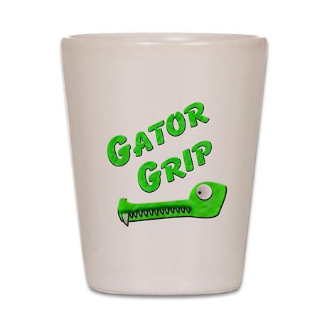 Gator Grip Shot Glass