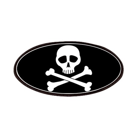 Skull and bones Patches