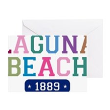 Laguna Beach 1889 Greeting Card