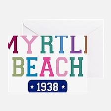 Myrtle Beach 1938 Greeting Card