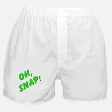 Oh, Snap! Boxer Shorts