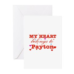 I love Payton Greeting Cards (Pk of 10)
