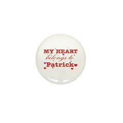 I love Patrick Mini Button (10 pack)