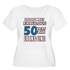 Cool 50 year old birthday designs T-Shirt