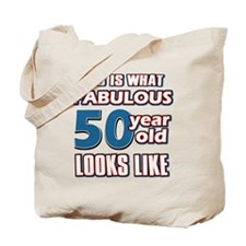 Cool 50 year old birthday designs Tote Bag