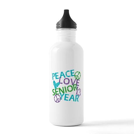 PEACE LOVE SENIOR 2013 Stainless Water Bottle 1.0L
