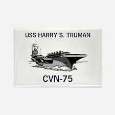 USS HARRY S. TRUMAN Rectangle Magnet (10 pack)